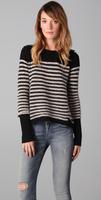 Free People Majorette Sweater