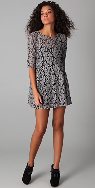 Free People Miles Of Lace Dress