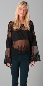Free People Angel Wings Top