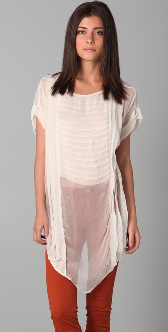Free People New Romantics Tarpaulin Tunic