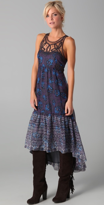 Free People Native Rose Dress