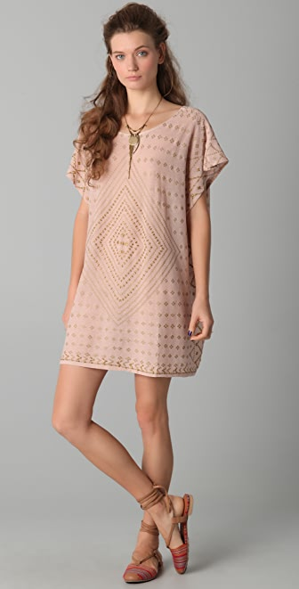 Free People New Romantics Embellished Dress