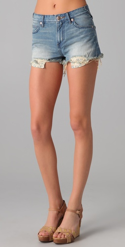 Free People 5 Pocket Cutoff Shorts