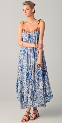 Free People Moroccan Bandana Dress
