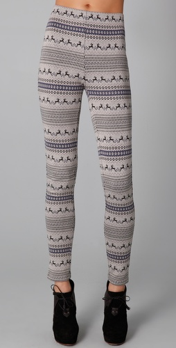 Free People Fair Isle Leggings