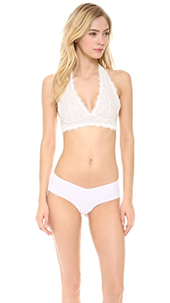 Free People Galloon Lace Halter Bra