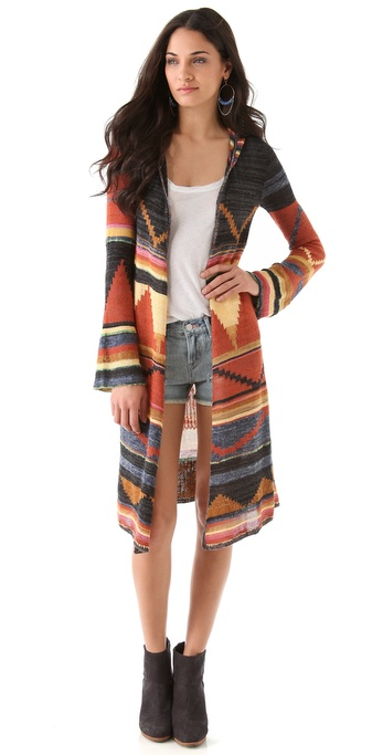 Free People Pueblo Yarn Lima Cardigan