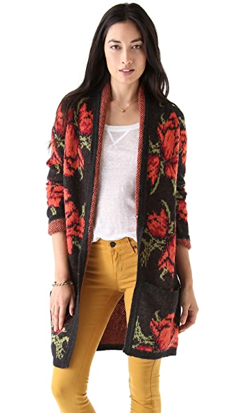 Free People Flower Power Cardigan