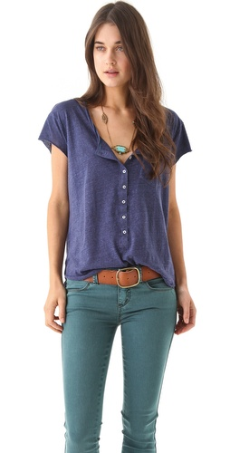 Shop Free People Ex Boyfriend Tee and Free People online - Apparel,Womens,Tops,Tee, online Store