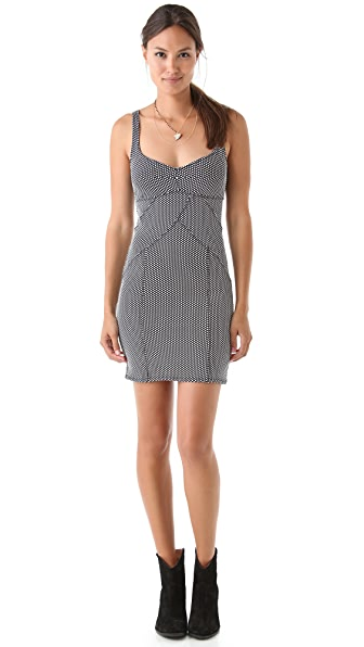 Free People Microdot Bodycon Dress