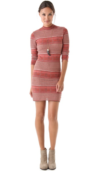 Free People Groovy Sweater Knit Dress