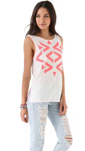 Free People Bermuda Triangle Tee