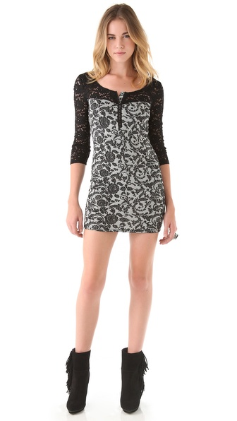 Free People Love You To Pieces Dress