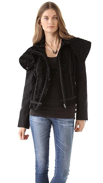 Free People Fancy Lady Coat