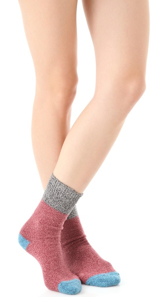 Free People Colorblock Boot Socks