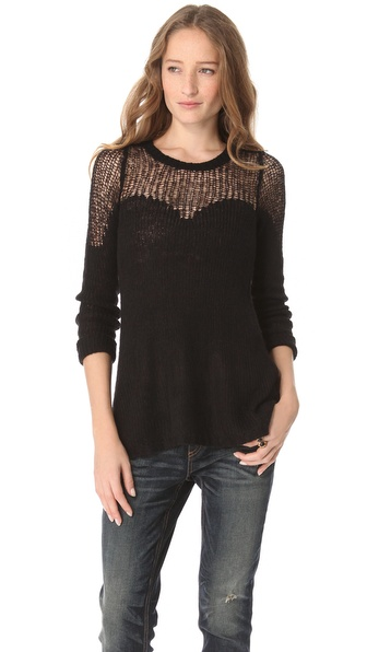 Free People Cozy Ginger Pullover