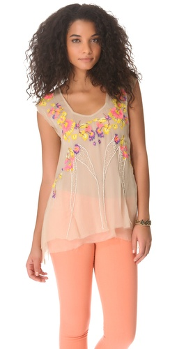 Shop Free People Summer Nights Top and Free People online - Apparel,Womens,Tops,Tee, online Store