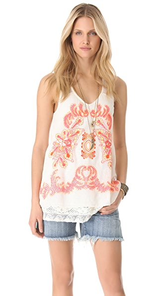 Free People Suspended Lace Tunic