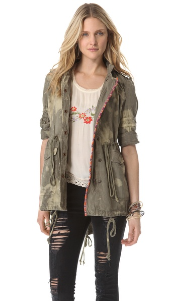Free People Festival Jacket