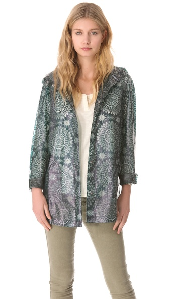 Free People Utility Raincoat