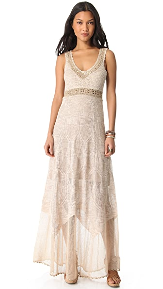 Free People Maxi Swit Party Dress