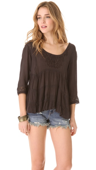 Free People Novella Top