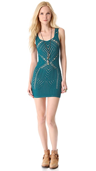 Free People Medallion Slip Dress