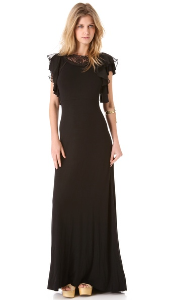 Free People Film Noir Maxi Dress