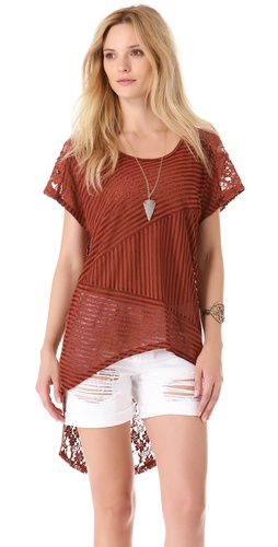 Free People Lace Top at Shopbop.com