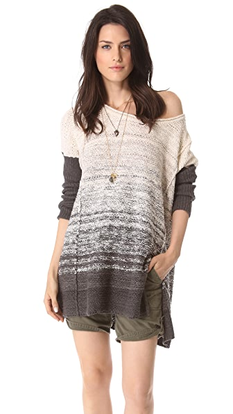 Free People Side Slit Pullover