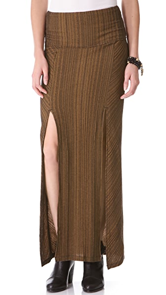 Free People Lazy Sunday Maxi Skirt