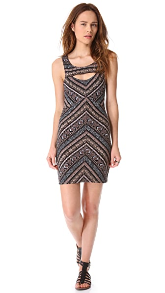 Free People Body Con Cutout Slip Dress