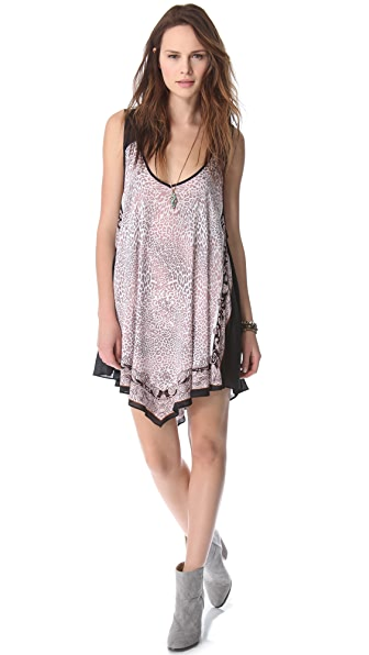 Free People Animal Print Dress