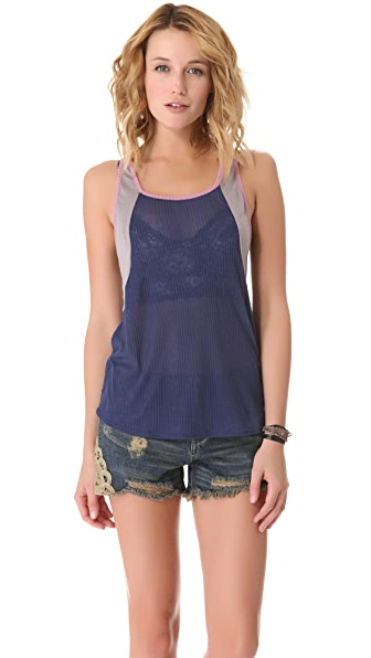 Free People Colorblock Boy Tank