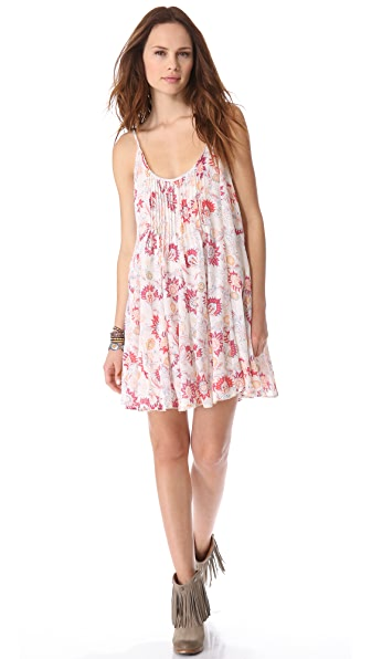 Free People Full Blossom Gauze Dress