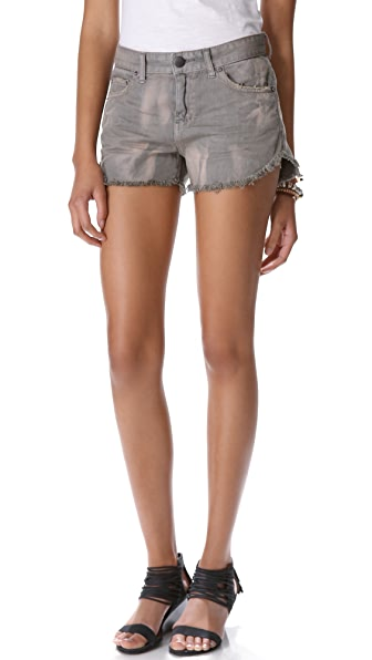 Free People Dolphin Hem Cutoff Shorts