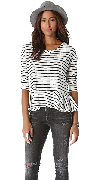 Free People Auntie Em Thermal Top
