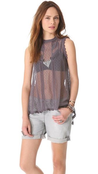 Free People Fiona's Victorian Top