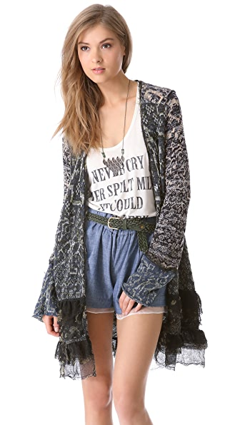 Free People Caspia Cardigan