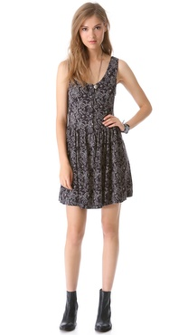 Free People Everyone Everywhere Dress