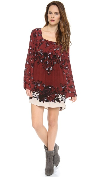 Free People Modern Chinoiserie Tunic