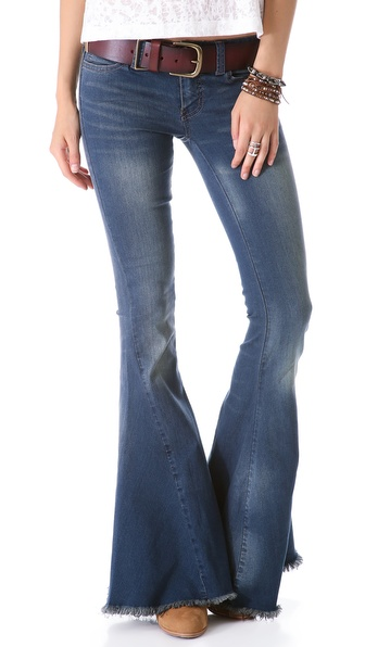 Free People Super Flare Jeans