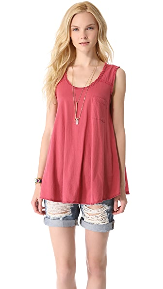 Free People Round the World Top