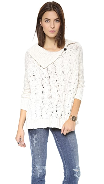Free People Berkeley Cable Sweater