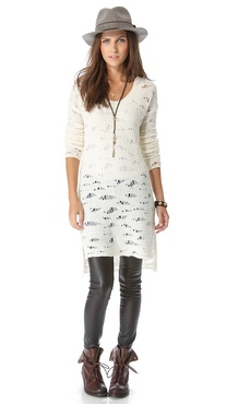 Free People Eye on You Tunic Pullover