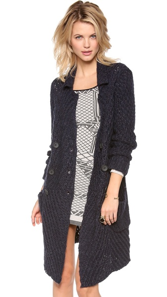 Free People Buttermilk Biscuit Cardigan