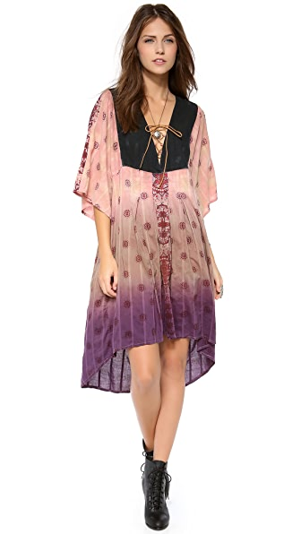 Free People Washed Woven Dress