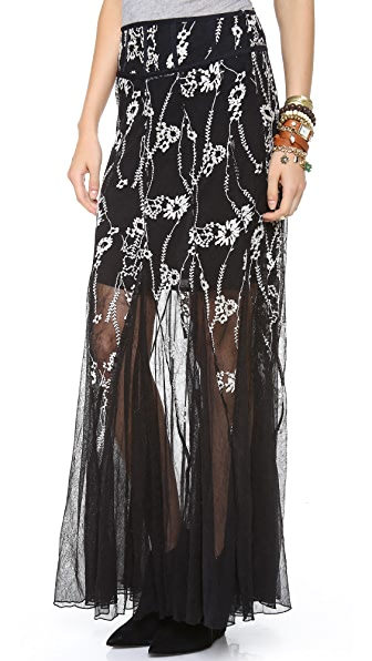 Free People Windswept Maxi Skirt