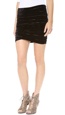 Free People Scrunch Skirt