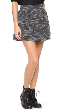 Free People Knit Holly Go Lightly Skirt